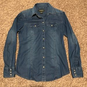 Eddie Bauer Denim Shirt